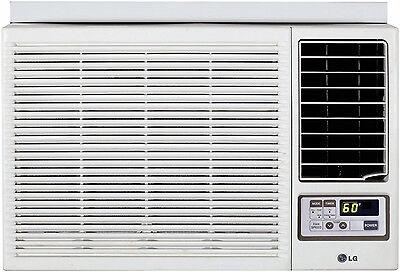 LG LW1215HR - 12,000 BTU 220V Window A/C w/ Heat: Remote & Window Vent Kit Incl.