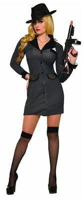 Gangster Costume Womens (Gangster Girl - Adult Womens Gangster)