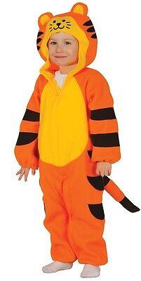 Tiger Katze Tier Halloween Dschungel Kostüm Kleid Outfit (Mädchen Tiger Halloween-kostüm)