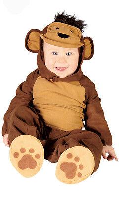 Baby Kleinkind Affen-Kostüm Kinder Kostüm Outfit Alter 6-12 & 12-24 Monate NEU