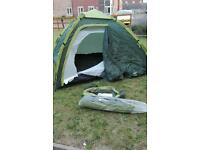 Regatta pop up 4 man tent 2000HH
