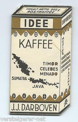 Werbekalender, IDEE KAFFEE HAMBURG, Taschenkalender 1936-37  Notizblock Kalender