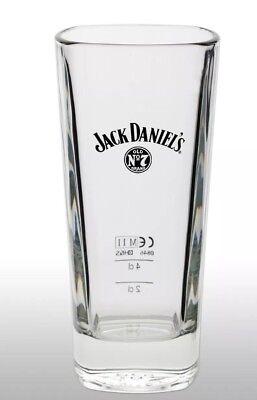 Jack Daniels Tall Whiskey Glass