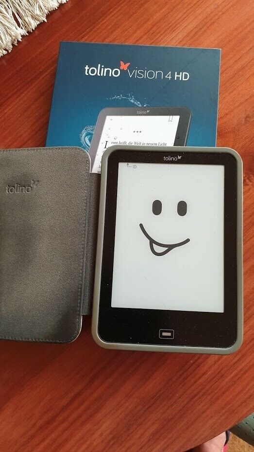 Tolino Vision 4 HD eBook-Reader Schwarz