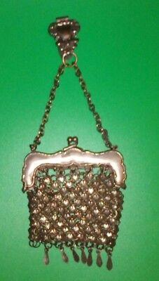 Alte Damen Trachten Tasche Portemonnaie Geldkatze Tanz Tasche tolle Gestalltung