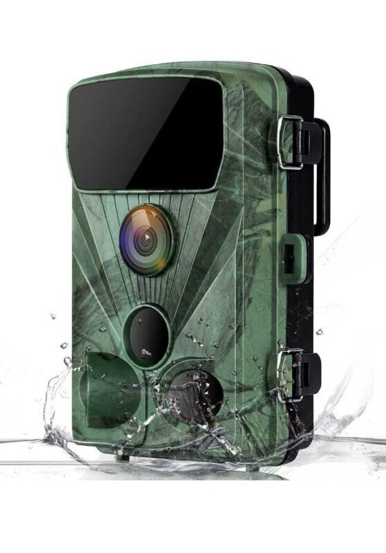 Trail+Camera+4K+20MP+Game+Camera+Night+Vision+IR+LEDs+120%C2%B0+Detection+Waterproof