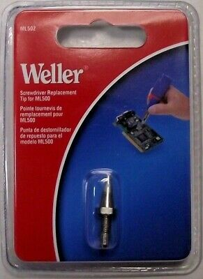 Weller Ml502 Screwdriver Replacement Tip 2.4mm For Soldering Iron Ml500