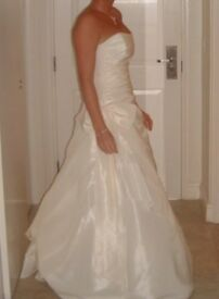 White Rose R339 ivory wedding dress (size 10-14)