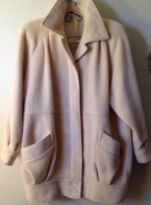 Women's Vintage George David Fashions Wool Coat