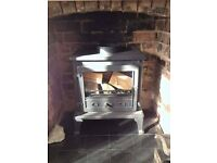 Firefox 8 multi fuel stove for sale