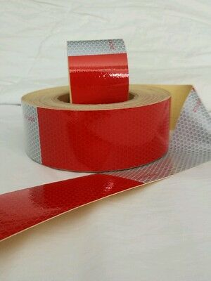 50 Foot Roll DOTC2 Reflective Conspicuity Tape Safety USA Seller - Free Shipping