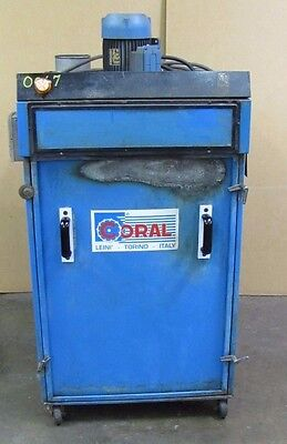 Coral 2hp 2 Hp 3365 Rpm 208-230460v 3ph Dust Collector