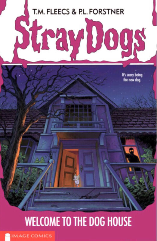 🚨🔥🐶 STRAY DOGS TPB CONVENTION EXCLUSIVE Glow In Dark Goosebumps LTD 750