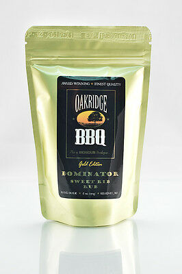 Oakridge BBQ Barbeque Dominator Sweet Rib Rub - Multiple Sizes
