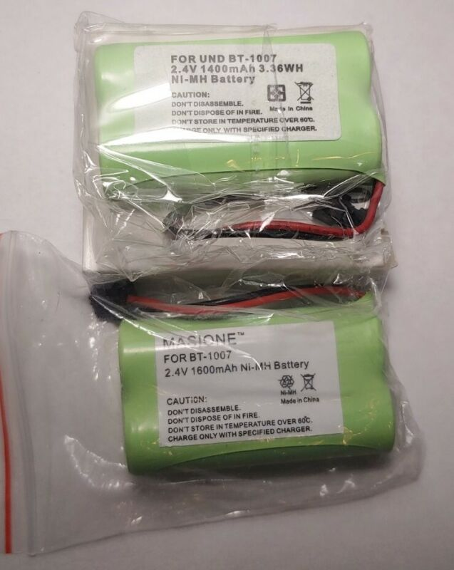 Masione BT-1007 Cordless Phone Replacment Battery