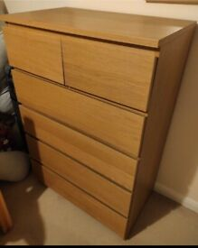 IKEA Malm Chest of 6 Drawers - I can deliver