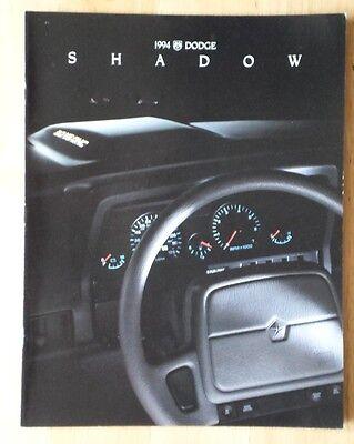 DODGE Shadow range orig 1994 USA Mkt sales brochure