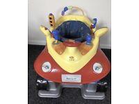 Baby bouncer jumperoo style car