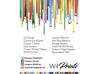 Printing services are