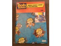 Bob the builder single duvet set