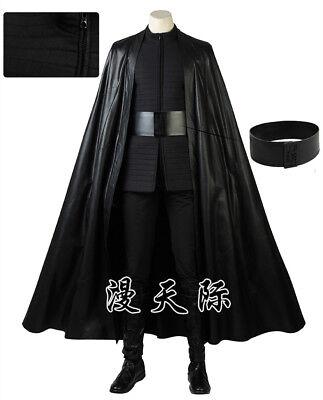 Star Wars VIII The Last Jedi Kylo Ren Ben Solo Skywalker Cosplay Kostüm Costume