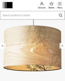 John Lewis New woodland Drum Light Shade rrp £45
