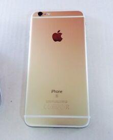 iPhone 6S Plus 128gb - Unlocked - Shop receipt & Warranty - gold - good condition