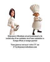 Recherche de cuisinier