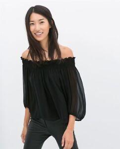 Zara off-Shoulder Top
