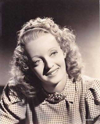 BETTE DAVIS Beautiful Original Vintage 1930s HURRELL Warner Bros Portrait Photo