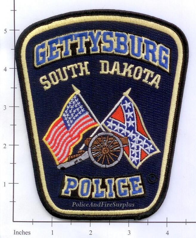South Dakota - Gettysburg SD Police Dept Patch v1