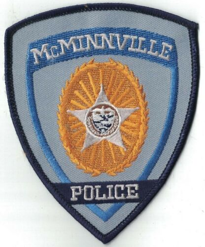 McMinnville Police OREGON OR Police patch