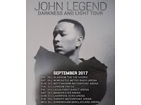 John Legend 1 Ticket Newcastle Arena