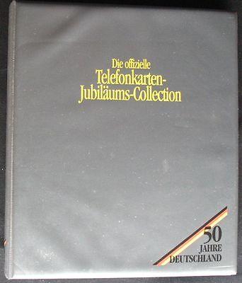 Telefonkarten Album 50Jahre Deutschland 24verschiedene mint/ungebraucht **