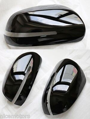 Rear View Back mirror Cover 2EA (Fit: KIA FORTE Sedan, Koup 2011 2012 2013)