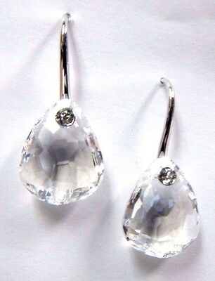 PARALLELE PIERCED EARRINGS CLEAR CRYSTAL 2016 SWAROVSKI JEWELRY #5199716