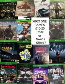 Xbox one games new condition