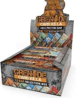 Grenade Carb Killa Selection Box Of 12