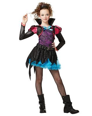 ONCE UPON A TIME WICKED CUTE QUEEN PRINCESS DRESS HALLOWEEN COSTUME GIRLS MED - A Princess Halloween Costume
