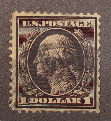 Scott 342 - $1.00 Washington - Used - Nice Stamp - SCV - $90.00