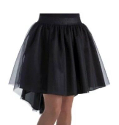 NWT Women's Basic Black Waterfall Tutu One Size Fits Most - Most Basic Halloween Costumes