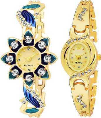 Combo Pack 2 Best Artist Designer Party-Wedding Bangle Watch For Women & Girls (Best Watches For Girls)