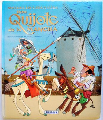 Don Quijote de la Mancha - Miguel de Cervantes segunda mano  Arroyo de las Palmas