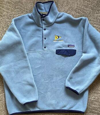Patagonia Men's Large Synchilla Snap-T Fleece Pullover (Trinity Sailing Logo)