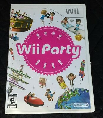Wii Party (Nintendo Wii, 2010) Mint With Instructions