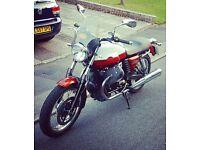 2012 Moto Guzzi V7 Special Cafe Racer Motorcycle