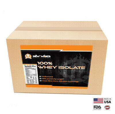15lb Bulk Whey Protein ISOLATE  Manufacturer Direct UNFLAVOR
