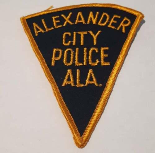 Alexander City Alabama AL US Police Patch Vintage