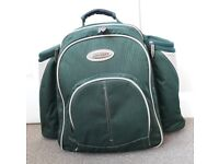 Concept 2 Person Picnic Backpack - Woodland Green
