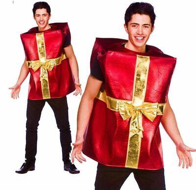 Erwachsene Riesig Weihnachtsgeschenk Weihnachten Kostüm Kleid Outfit - Weihnachts Geschenk Kostüm